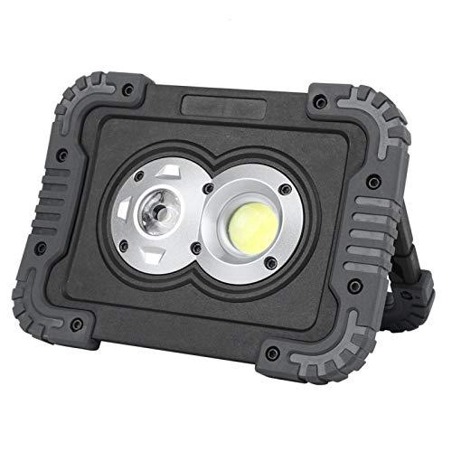 PBOHUZ Luz para Acampar - Luz LED portátil para Acampar al Aire Libre IP44 Focos a Prueba de Agua Reflectores para Carpas Viajes Reparación de automóviles