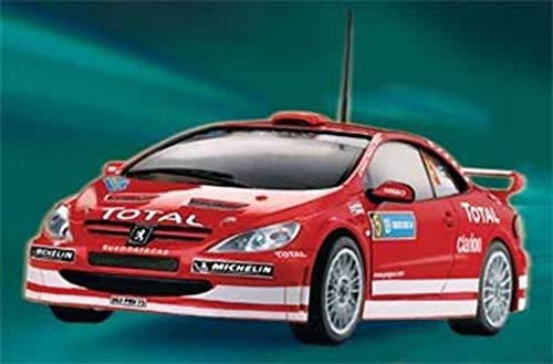 Revell 07121 Easy Kit - Maqueta de Peugeot 307 WRC 2004 Marcus Grönholm / Timo Rautiainen (Escala 1:32)