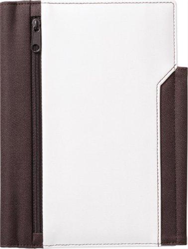 キングジム レザフェスノートカバー B6S 白 1981LFシロ