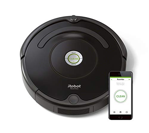 iRobot Roomba 671 WiFi Connected Robot Vacuum - Good for Carpets and Hard Floors - Dirt Detect Technology - 3 Stage Cleaning System