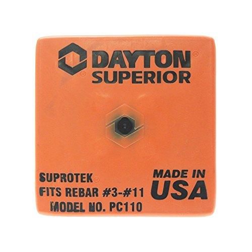 Dayton Superior OSHA Rebar Caps Fits #3- #11 Rebar Sizes QTY 100