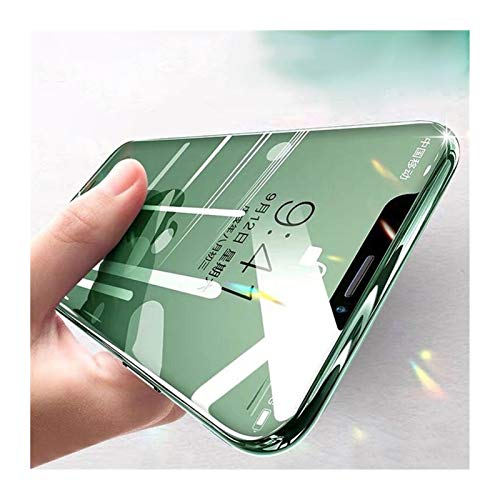 Película templada Pantalla Templado Protector for el iPhone 11 Pro X XR XS MAX Glass Protector de Pantalla (Color : For iPhone 7(8) Plus, Size : White)