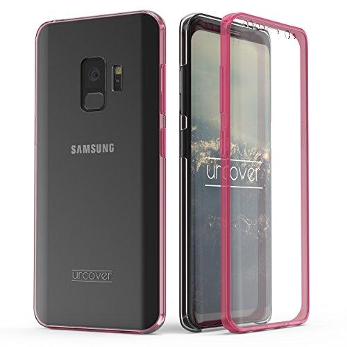 Urcover Kompatibel mit Samsung Galaxy S9 Hülle I Original berühmt durch Galileo I Hard-Edition I QI-Fähig Rundum 360° Schutzhülle Case Pink