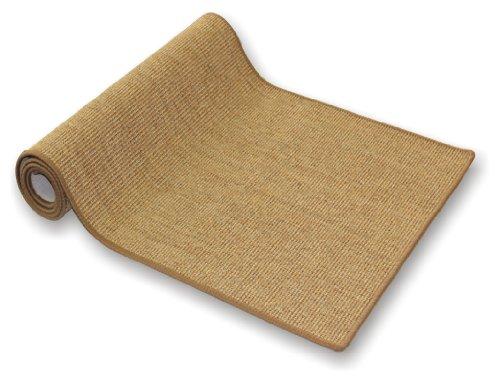 Tablero de paja y sisal läufer de recubrimiento de 66 cm de ancho y alfombra de pasillo de puente de pasillo en todas las longitudes de cable de hasta 30 Meter disponibles, amarillo, 66x660 cm