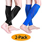 Best Calf Compression Sleeves - Udaily Calf Compression Sleeves (2 Pairs), Calf Support Review