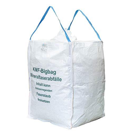 Storopack 10 Bigbags für Mineralwolle 1 cbm 90x90x120cm SWL 200 kg KMF Warnhinweis