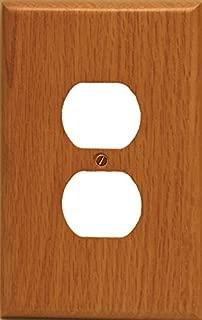 Runwireless Traditional Light Oak Wood, Switch plate, Wall plate, Cover _ 4-430D