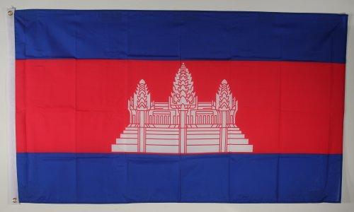 Fahne Flaggen KAMBODSCHA 150x90cm
