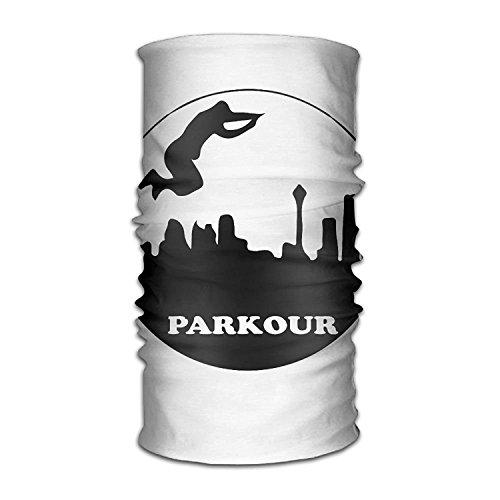 Street Sport Parkour In City Headwear Bandanas sin costuras, para deportes al aire libre, tocado para correr, equitación, esquí, senderismo