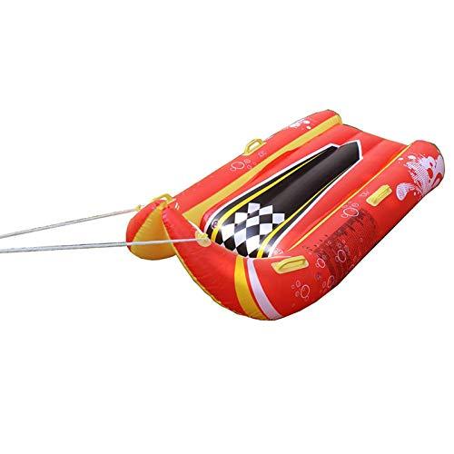 RUIXI Trineo de nieve hinchable para 1 o 2 personas, trineo de nieve grande, trineo de nieve para niños, juguete hinchable para invierno, para niños