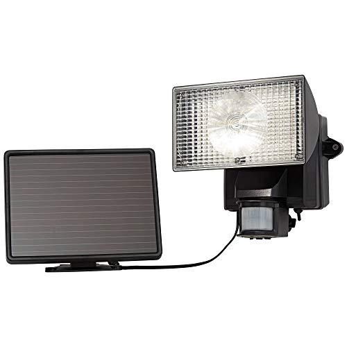 MAXSA Solar-Powered Security Floodlight