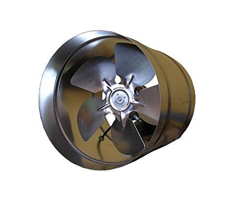 Ventilador extractor industrial en línea de acero galvanizado de 200 mm de ventilación de escape industrial comercial VKO200