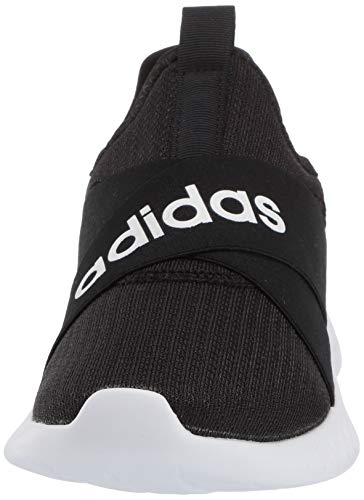 adidas Women's Puremotion Adapt Running Shoe, Black/White/Grey, 7 Montana