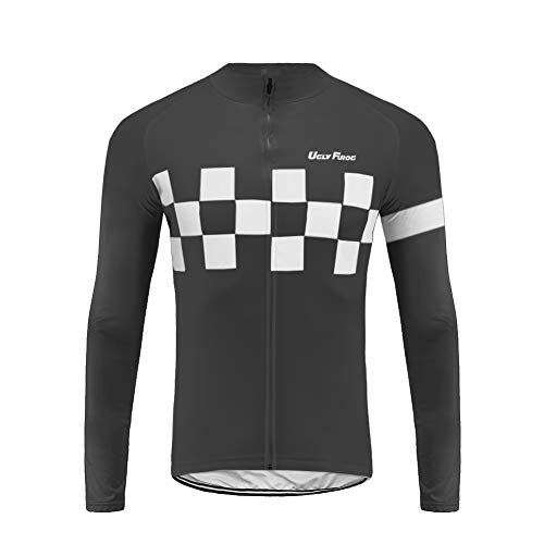 Future Sports UGLYFROG de Ciclismo Running Cortavientos Otoño Transpirable Señales Reflectantes para Hombre