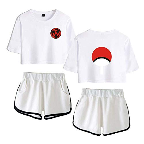 T-Shirt Kurze Hose Sport Set Naruto Anime Fans Shorts Top Sets XXL