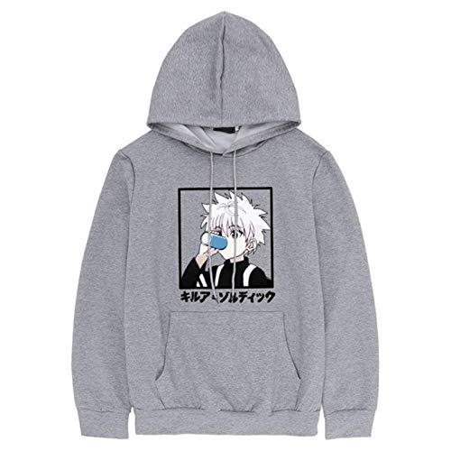 Japanese Anime Funny Killua Zoldyck Printed Hoodies Fall Winter Japan Style Hunter X Hunter Sweatshirts Streetwear for Women/Men