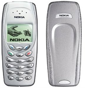 Preisvergleich Produktbild Nokia 3410 Handy (DualBand 900,  1800 MHz) Silver