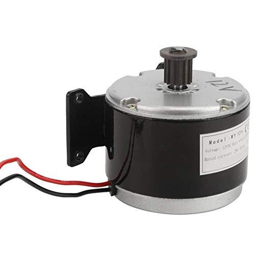 Pwshymi 12V 250W Motor de Scooter eléctrico Motor eléctrico Motor de Engranaje de CC para Scooter eléctrico