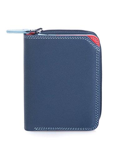 Mywalit - leder damen Geldbörse - Small wallet w/ zip around purse- 226-127 - royal