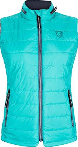 HV Polo Society Damen Weste Reitweste Mico Aqua Blau S M L XL (XL)