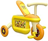 NUBAO Juguete de bebé Trike adecuado para niños de 2 a 6 años de edad triciclo de equilibrio bicicleta Walker Light Trolley niño niña triciclos para 1 a 3 años de edad