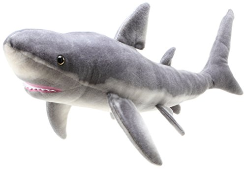 VIAHART Sammy The Shark   3 Foot Long Great White Stuffed Animal Plush   by Tiger Tale Toys