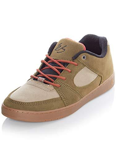 ES Herren Accel Slim Skate-Schuh, Brown Tan Gum, 44 EU