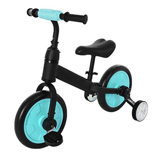QHY 4-in-1 Kinderfahrrad Mit Ausbildung Räder Und Pedale, Laufrad Zum 2-6 Alter Anfänger Fahrrad Draussen...