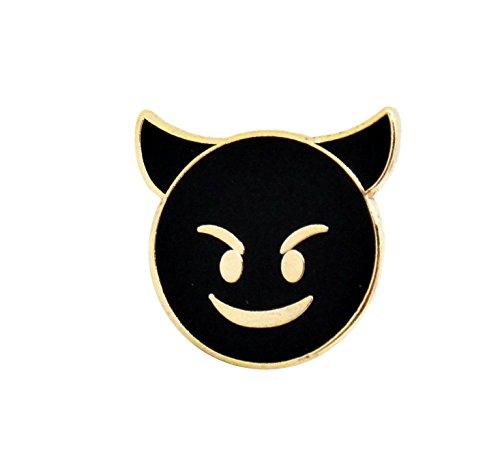 PinMaze Emoji Enamel Lapel Pin - Funny Internet Meme Brooch Clip - Fun Trendy Accessory for Jacket T-Shirt Bag Hat Shoe