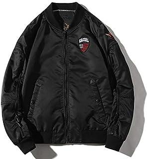 HAWEEL Leisure Air Force Baseball Collar Blazer Jacket for Men Windbreaker Jacket