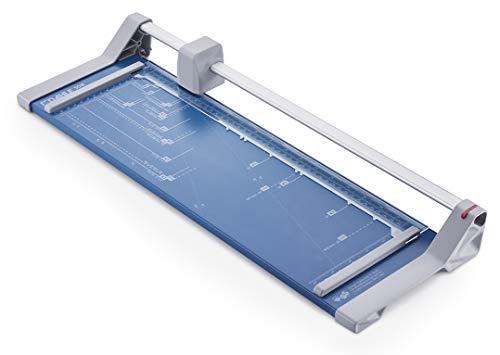 Dahle 508 Papierschneider Modell 2020 (6 Blatt Schneidleistung, bis DIN A3) blau