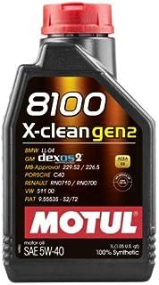 Motul 8100 X-Clean Gen2 5W40 (1 Liter)