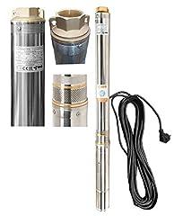 "Głęboka pompa studni pompa studni pompa 3.5 "" 89 mm 6300 l/h 0.8kW 6.3 bar piasek odporny"