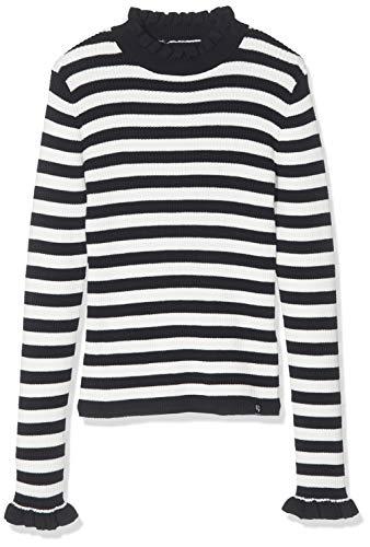 Garcia Kids Mädchen I92442 Pullover, Mehrfarbig (Off White 53), 140 (Herstellergröße: 140/146)