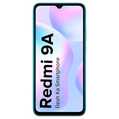 Redmi 9A (Nature Green, 2GB Ram, 32GB Storage) | 2GHz Octa-core Helio G25 Processor