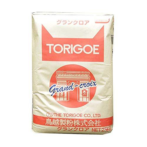 【業務用】鳥越製粉 グランクロア フランスパン専用粉 準強力粉 25kg