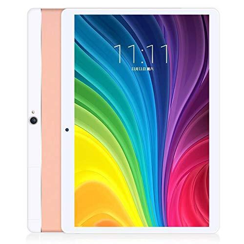 tablet PC de 10 Pulgadas Pantalla de protección Ocular HD IPS PC Android 16GB Procesador de 4 núcleos Batería Grande Soporte Bluetooth WiFi PC portátil liviano