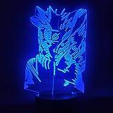 Tianyifengg 3D-LED-7 Farbe-Fernbedienung-Nachtlicht-Kinderpuppe Lampe Puppe Kinder Geschenk Licht Nachtlicht