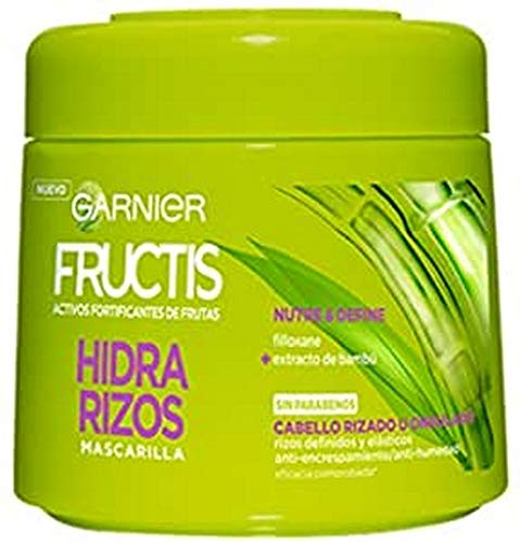 GARNIER Fructis Hidra Rizos Mascarilla Capilar Pelo Rizado u Ondulado - 300...