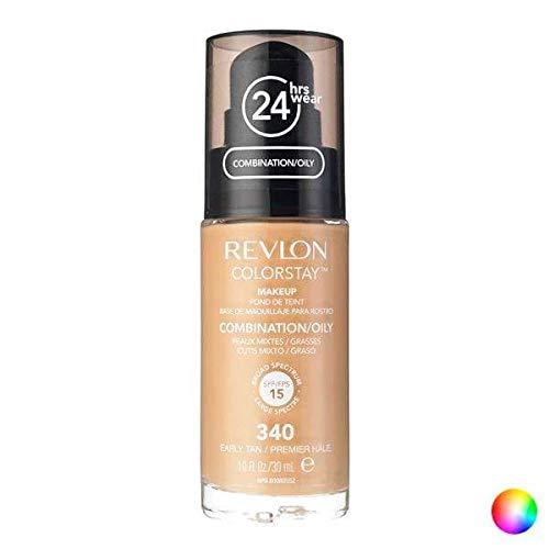 Base Revlon Colorstay Peles Mistas e Oleosas Cor Golden Beige com 30ml