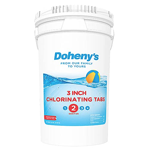 Doheny's 3 Inch Swimming Pool Chlorine Tablets - 50 lbs.