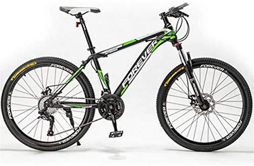 Bicicleta de carretera de la ciudad de cercanías, Mens bicicleta de montaña 24/26 / 27,5 pulgadas, 21-30 bicis de la velocidad de bicicletas for adultos acero de alto carbono Road, Radio de rueda for
