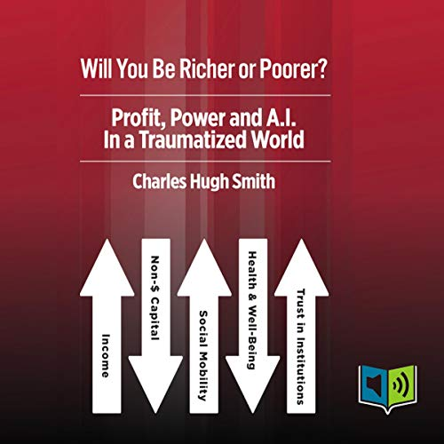 Will You Be Richer or Poorer? audiobook cover art