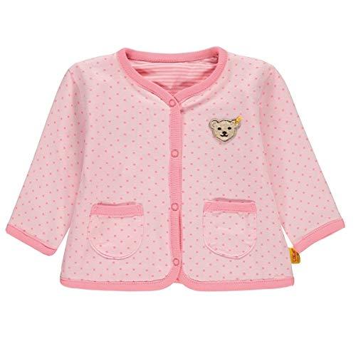 Steiff Collection Steiff Mädchen Baby Sweatjacke mit Wendefunktion Rose (323) 62