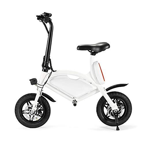 CHAOPENG Scooter Elettrico,Ultra Leggero Mini a Due Ruote Monopattino Elettrico Doppia Ruota Design Portatile E Regolabile E-Bike MTB Adatto Ad Adulti E Adolescenti
