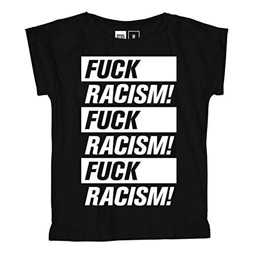 DEDICATED Visby Fuck Racism T-Shirt (Medium)