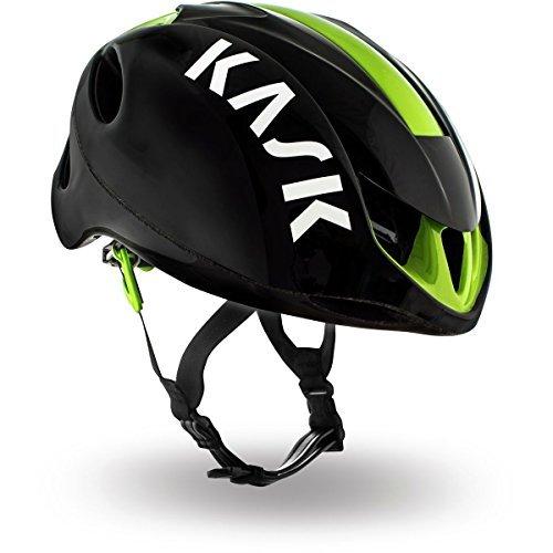 Kask Infinity Helmet Black/Lime, L by Kask