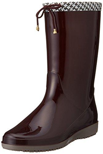 [アキレス] レインブーツ 長靴 作業靴 レインシューズ 日本製 2E レディース OAB 0140 ワイン 24.5