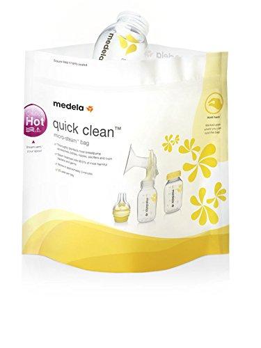 Medela Quick Clean Mikrowellenbeutel, 5 Stück