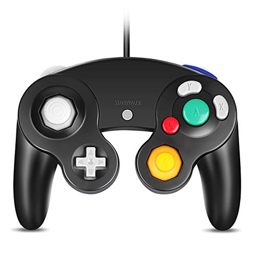 VOYEE GC Controller, Wired USB Controller for PC Windows 7 8 10 (Black)